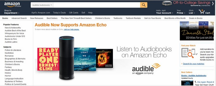 The Audible DailyDeal: It's A Thing, But You Might Never Know It