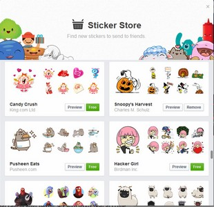 Facebook-ery: How To Add Free Facebook Stickers To Your