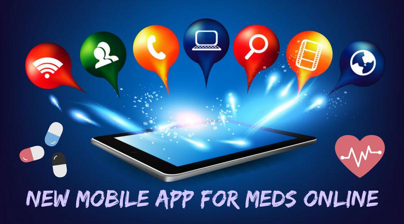 New Mobile App for Meds Online