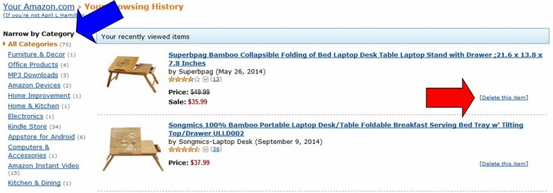 How To Change Your Amazon Recommendations & Browsing History
